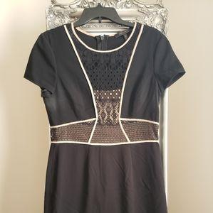 BCBG Max Azria size 10 art deco dress